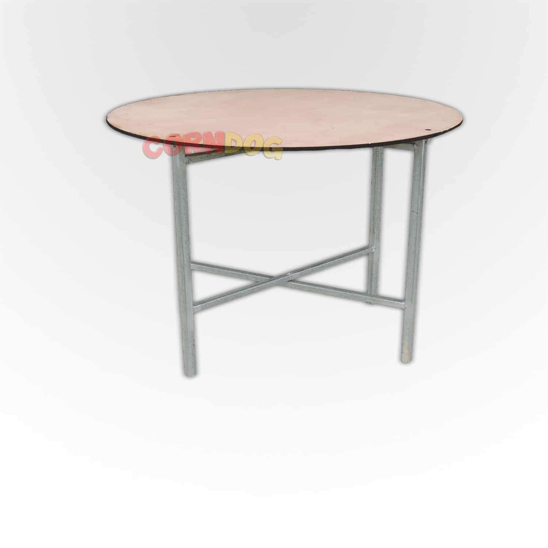 שולחן קוטר 80