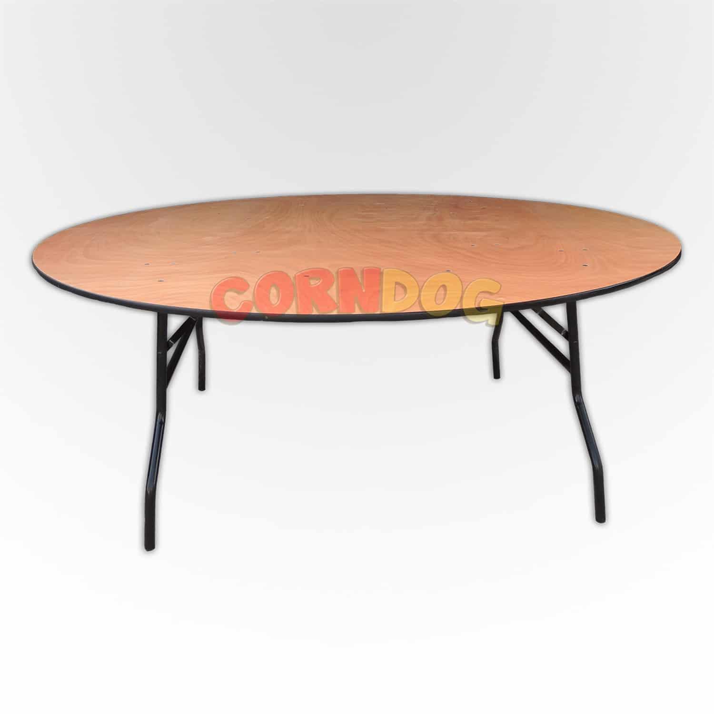 שולחן קוטר 180